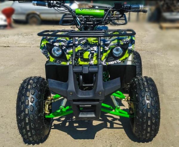 ATV electric Eco Toronto 1000W 48V 20Ah #Verde Camuflaj 8