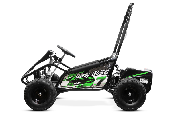 Kart electric NITRO GoKid Dirty 1000W 48V #Verde 2