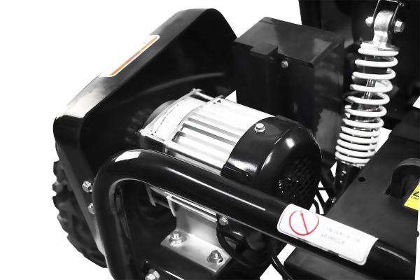 Kart electric pentru copii NITRO GoKid Dirty 1000W 48V #Albastru 9