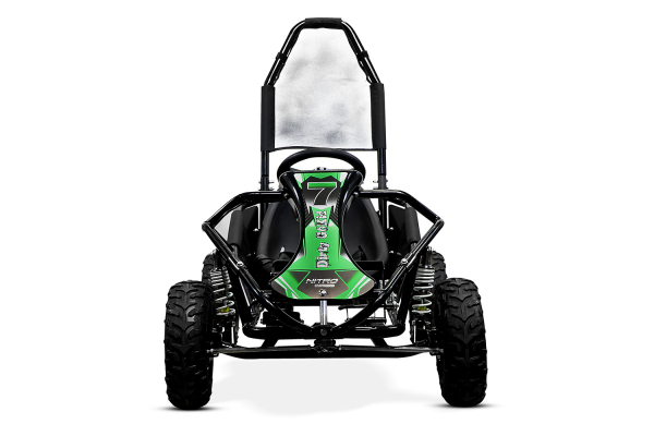 Kart electric NITRO GoKid Dirty 1000W 48V #Verde 3