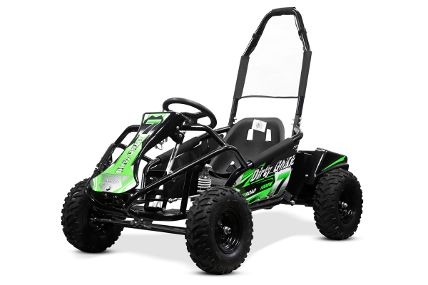 Kart electric NITRO GoKid Dirty 1000W 48V #Verde 0