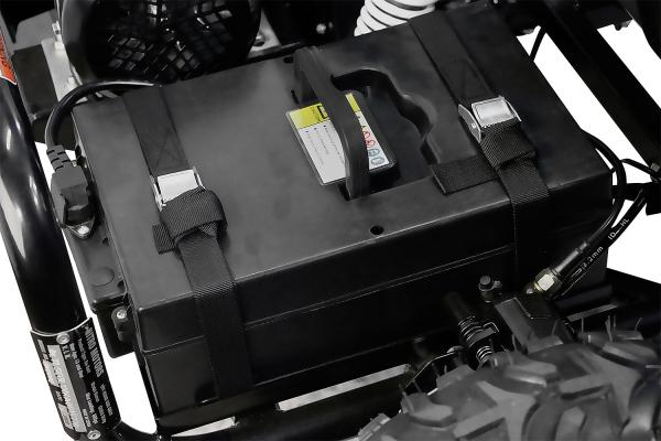 Kart electric pentru copii NITRO GoKid Dirty 1000W 48V #Rosu 8