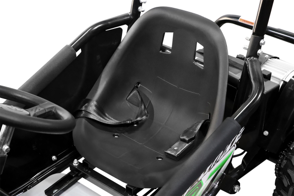 Kart electric pentru copii NITRO GoKid Dirty 1000W 48V #Rosu 5