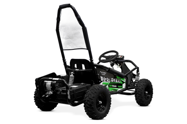Kart electric NITRO GoKid Dirty 1000W 48V #Verde 5