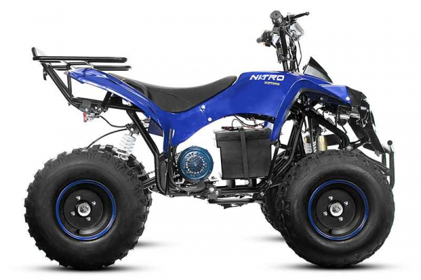 ATV electric Eco Warrior 1000W 48V 20Ah #Albastru 7