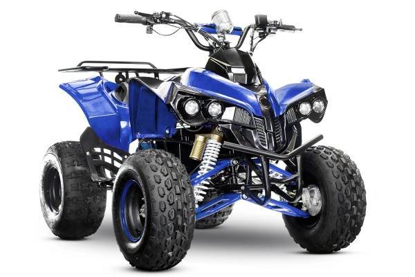 ATV electric Eco Warrior 1000W 48V 20Ah #Albastru 0
