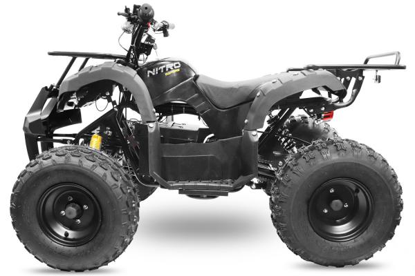 ATV electric Eco Toronto 1000W 48V 20Ah #Negru 3
