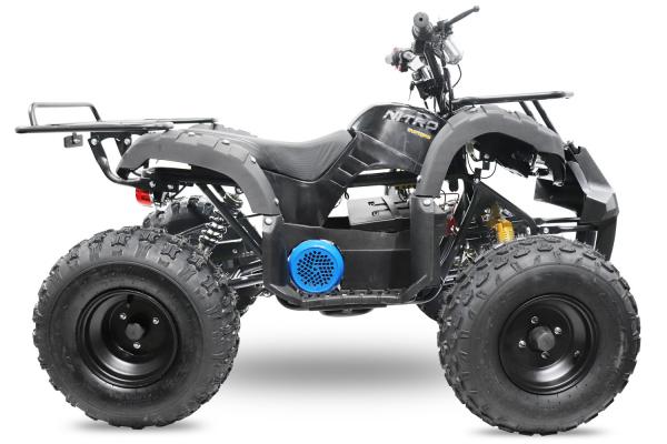 ATV electric Eco Toronto 1000W 48V 20Ah #Negru 2