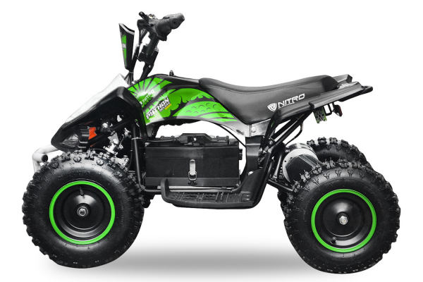ATV electric NITRO ECO Python 1000W 48V DELUXE #Verde [1]