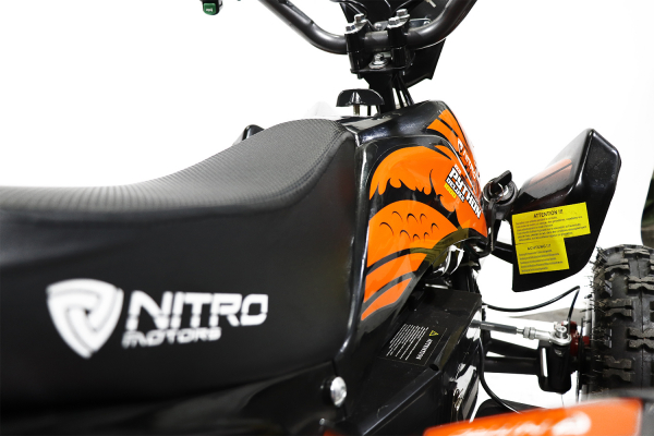 ATV electric NITRO ECO Python 1000W 48V DELUXE #Portocaliu 10
