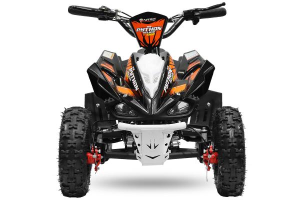 ATV electric NITRO ECO Python 1000W 48V DELUXE #Portocaliu 0