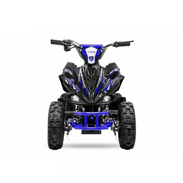ATV electric NITRO ECO Python 800W 36V cu 3 Viteze #Albastru 2