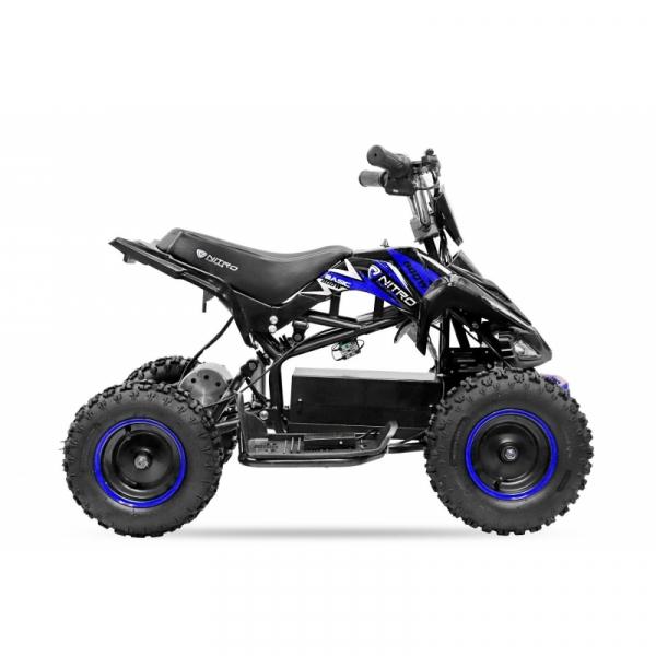 ATV electric NITRO ECO Python 800W 36V cu 3 Viteze #Albastru 3