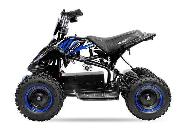 ATV electric NITRO ECO Python 800W 36V cu 3 Viteze #Albastru 1