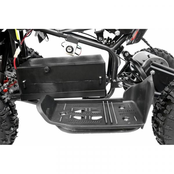 ATV electric NITRO ECO Python 800W 36V cu 3 Viteze #Portocaliu 9