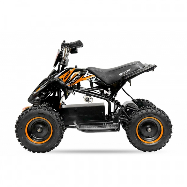 ATV electric NITRO ECO Python 800W 36V cu 3 Viteze #Portocaliu 4