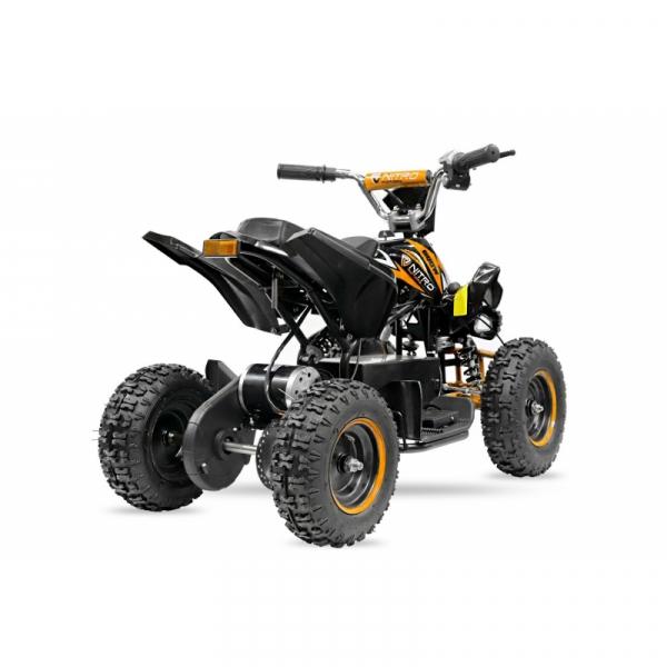 ATV electric NITRO ECO Python 800W 36V cu 3 Viteze #Portocaliu 5