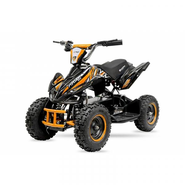 ATV electric NITRO ECO Python 800W 36V cu 3 Viteze #Portocaliu 0