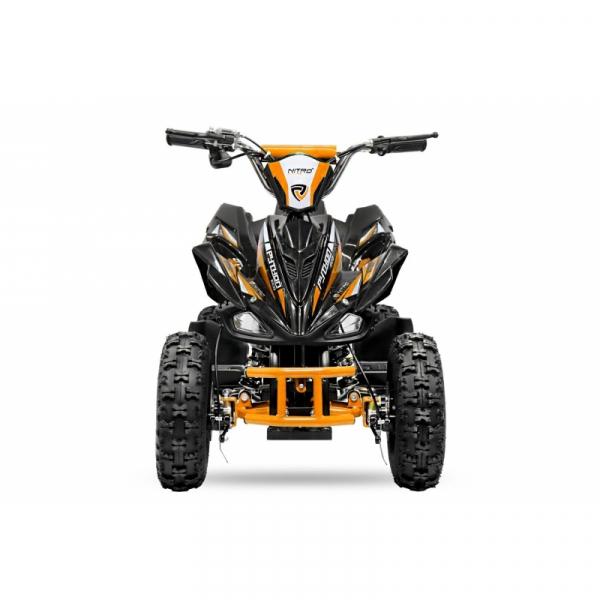ATV electric NITRO ECO Python 800W 36V cu 3 Viteze #Portocaliu 1