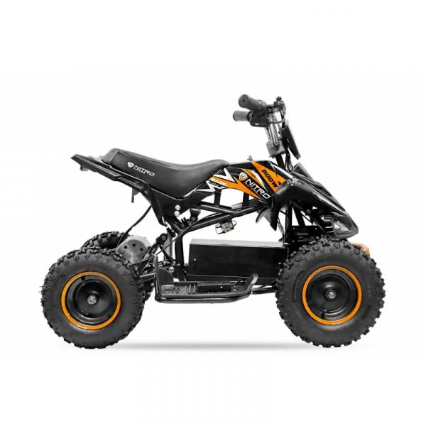 ATV electric NITRO ECO Python 800W 36V cu 3 Viteze #Portocaliu 2