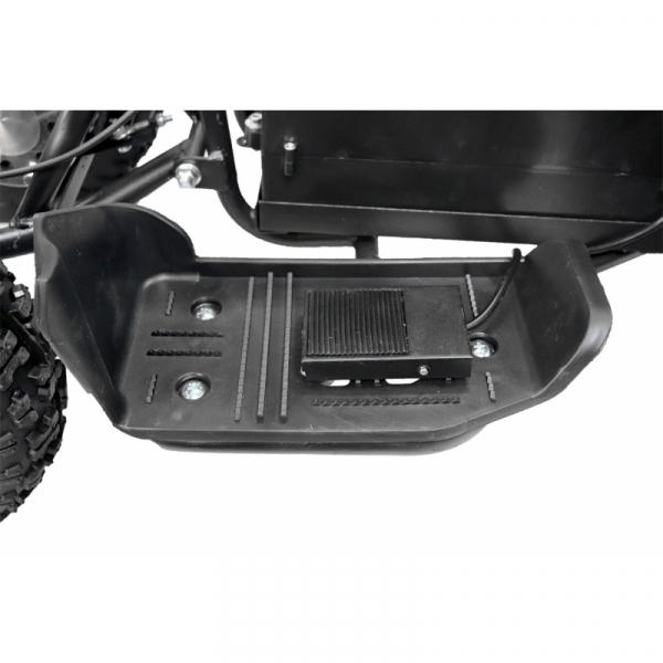 ATV electric NITRO ECO Python 800W 36V cu 3 Viteze #Portocaliu 10
