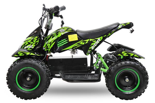 ATV electric NITRO ECO Cobra 800W 36V cu 3 Viteze #Verde [1]