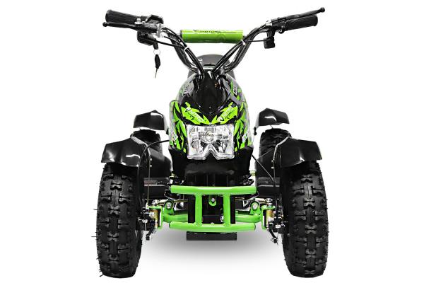 ATV electric NITRO ECO Cobra 800W 36V cu 3 Viteze #Verde [2]
