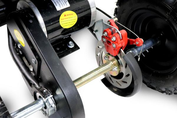 ATV electric NITRO ECO Python 1000W 48V DELUXE #Portocaliu 4