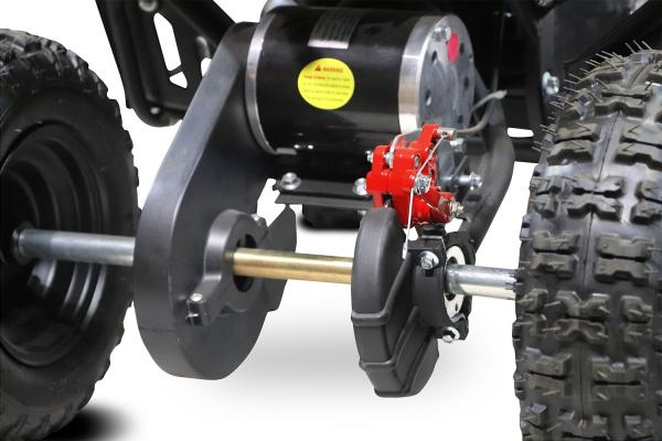 ATV electric NITRO ECO Python 1000W 48V DELUXE #Portocaliu 5