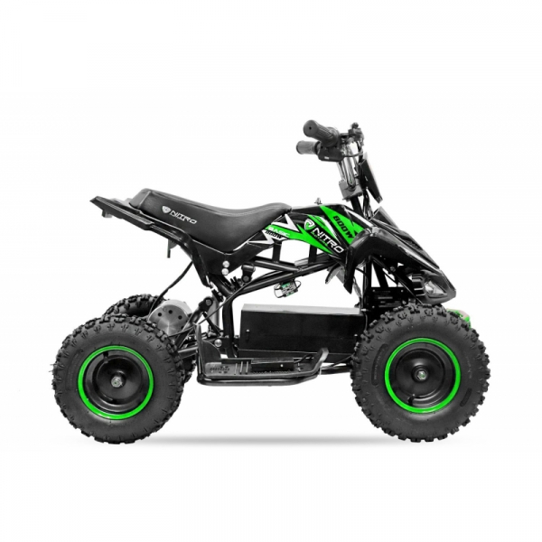ATV electric NITRO ECO Python 800W 36V cu 3 Viteze #Verde 2