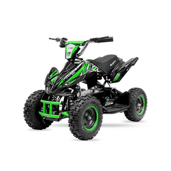 ATV electric NITRO ECO Python 800W 36V cu 3 Viteze #Verde 0