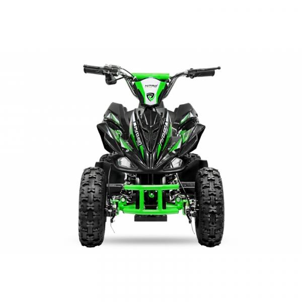 ATV electric NITRO ECO Python 800W 36V cu 3 Viteze #Verde 1