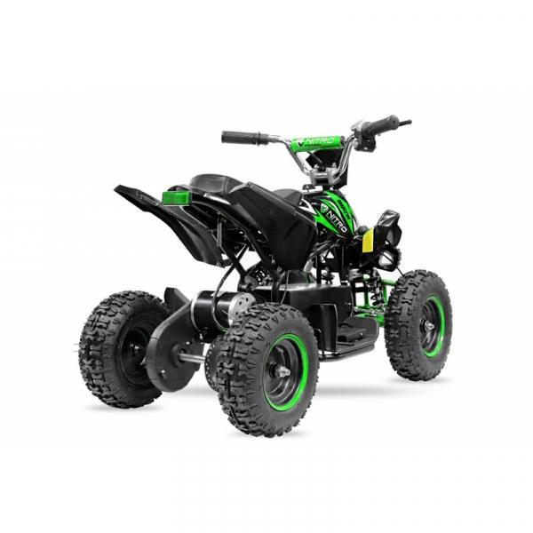 ATV electric NITRO ECO Python 800W 36V cu 3 Viteze #Verde 5