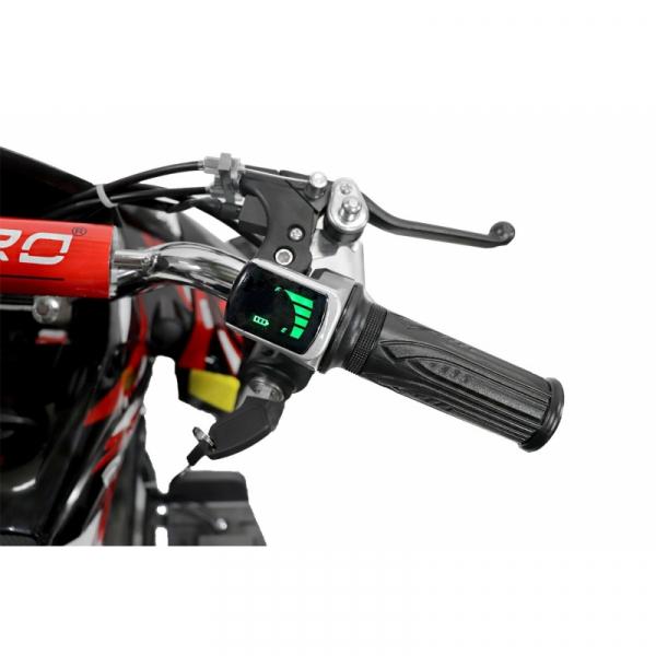 ATV electric NITRO ECO Python 800W 36V cu 3 Viteze #Verde 6