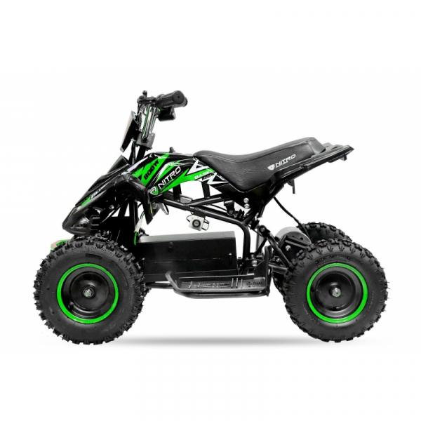 ATV electric NITRO ECO Python 800W 36V cu 3 Viteze #Verde 4