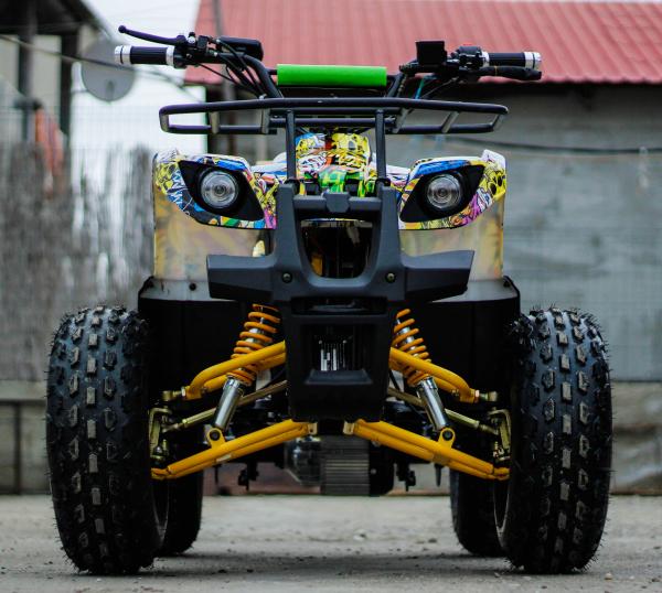 ATV electric NITRO Eco Toronto 1000W 48V 20Ah cu DIFERENTIAL #Galben 8