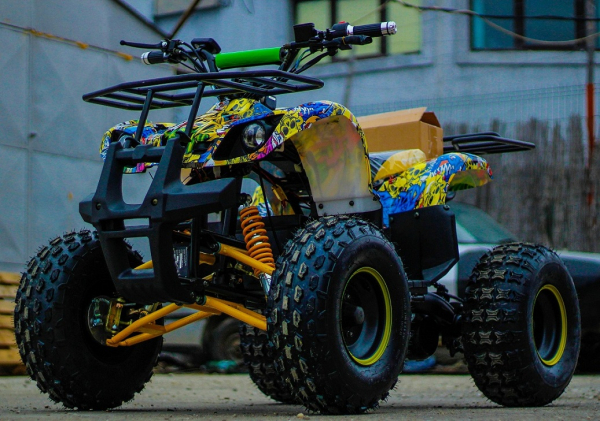 ATV electric NITRO Eco Toronto 1000W 48V 20Ah cu DIFERENTIAL #Galben 1