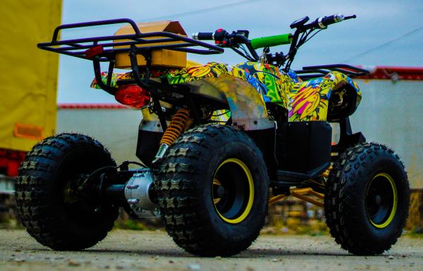 ATV electric NITRO Eco Toronto 1000W 48V 20Ah cu DIFERENTIAL #Galben 5