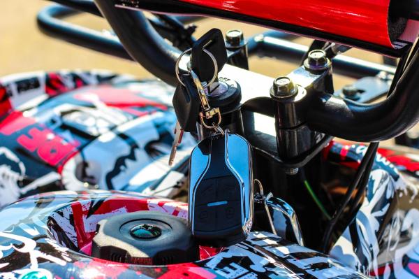 ATV electric NITRO Eco Toronto 1000W 48V 20Ah cu DIFERENTIAL #Alb [20]