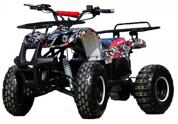 ATV electric NITRO Eco Toronto 1000W 48V 20Ah cu DIFERENTIAL #Alb [0]