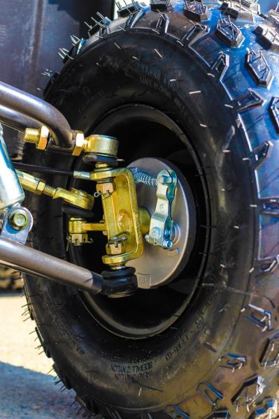 ATV electric NITRO Eco Toronto 1000W 48V 20Ah cu DIFERENTIAL #Alb [3]