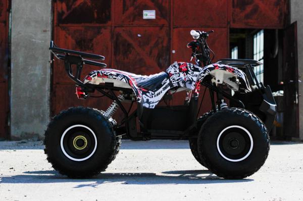 ATV electric NITRO Eco Toronto 1000W 48V 20Ah cu DIFERENTIAL #Alb [13]