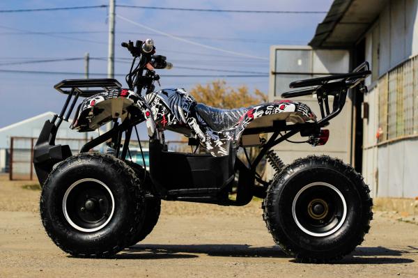 ATV electric NITRO Eco Toronto 1000W 48V 20Ah cu DIFERENTIAL #Alb [14]