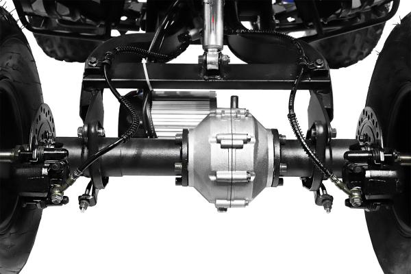 ATV electric NITRO Eco Warrior 1000W 48V 20Ah cu DIFERENTIAL #Orange 3