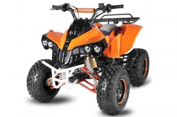 ATV electric NITRO Eco Warrior 1000W 48V 20Ah cu DIFERENTIAL #Orange 0