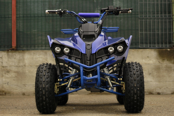 ATV electric NITRO Eco Warrior 1000W 48V 20Ah cu DIFERENTIAL #Albastru 1