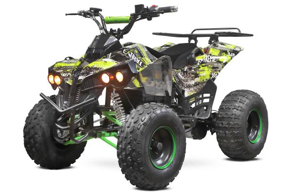 ATV electric NITRO Eco Warrior 1000W 48V 20Ah cu DIFERENTIAL #Verde Grafiti [0]