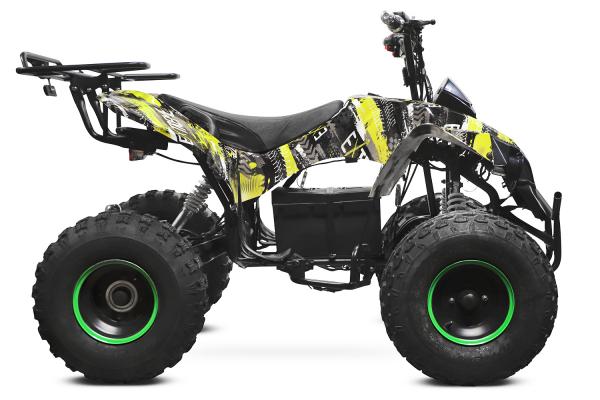ATV electric NITRO Eco Warrior 1000W 48V 20Ah cu DIFERENTIAL #Verde Grafiti [1]