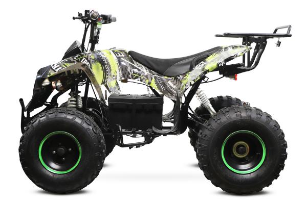 ATV electric NITRO Eco Warrior 1000W 48V 20Ah cu DIFERENTIAL #Verde Grafiti [4]