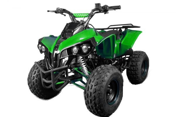 ATV electric NITRO Eco Warrior 1000W 48V 20Ah cu DIFERENTIAL #Verde 0